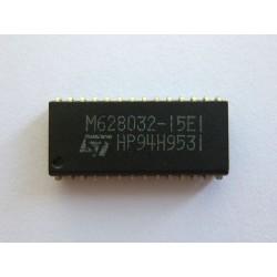 Чип STMicroelectronics M628032-15E1 (SOJ28), SRAM памет, 256Kb (32KB x 8-Bit), нов