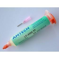 Оригинална паста (flux) за запояване Amtech LF-4300-TF, 10cc