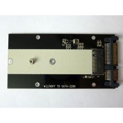 Адаптер M.2 SATA SSD към SATA конектор, v2
