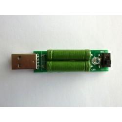 USB товар (съпротивление) за тест на батерии и зарядни устройства
