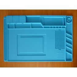 Силиконова подложка S-160, 45x30см, топлоустойчива, с магнитни зони