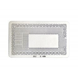 Stencil chip size 2EZ for reballing Intel BGA IC chips