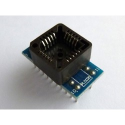 Adapter PLCC20 to DIP20 for programmer