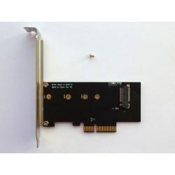 Адаптер M.2 PCI-E SSD към PCI-E x4 конектор