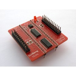 Base board of adapter TSOP48 and SOP44 for programmer