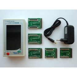 LVDS конвертор/тестер TV160-6, Full HD, LCD дисплей, VGA изход