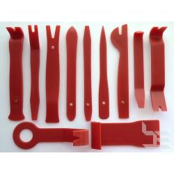 Инструменти за отваряне на пластмасови панели, 11 броя