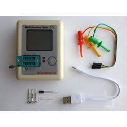 Тестер на електронни компоненти LCR-TC1 с цветен LCD дисплей