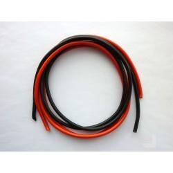 Комплект кабели за измервателни сонди, 3.3 кв.мм, многожичен, силиконов, 2x1м