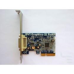 DVI-D адаптер Asrock DVI Graphics-SI за интегрирана видео карта