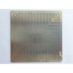 Stencil chip size 215-0876204 for reballing AMD/ATI BGA IC chips
