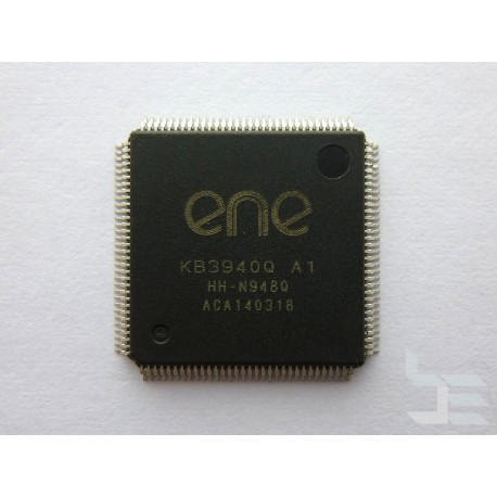 IC Chip ENE KB3940Q A1 (QFP-128), embedded controller, new