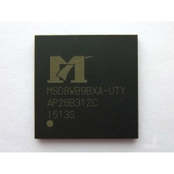 Чип MStar MSD8WB9BXA-UTY (BGA), процесор за телевизор, нов