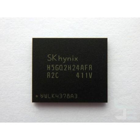 Чип SK hynix H5GQ2H24AFR-R2C (BGA), 2Gb GDDR5 SDRAM, нов