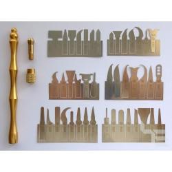 Инструмент с 43 ножчета B&R X4301 за ремонт на чипове
