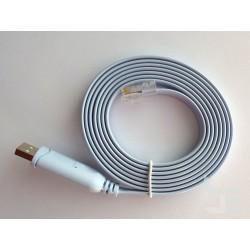 Конзолен кабел USB Type-A към RJ45 (M-M), 1.8м, за Cisco рутери