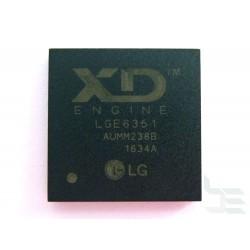 Чип LG LGE6351 (BGA), процесор за телевизор, нов
