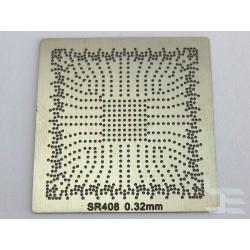 Шаблон chip size SR408 за ребол на Intel BGA чипове