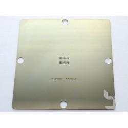 Шаблон 90x90мм DDR2-2 за ребол на BGA чипове