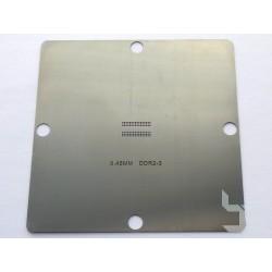 Шаблон 90x90мм DDR2-3 за ребол на BGA чипове