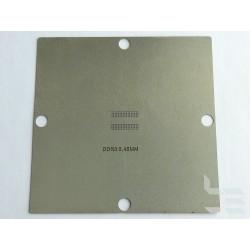 Шаблон 90x90мм DDR3 за ребол на BGA чипове