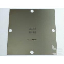 Шаблон 90x90мм DDR5 за ребол на BGA чипове