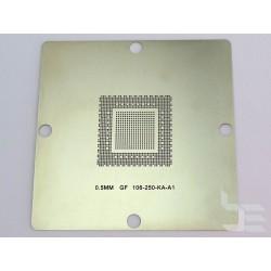 Шаблон 90x90мм GF106-250-KA-A1 за ребол на nVidia BGA чипове