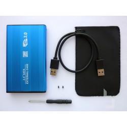 """Външна кутия за 2.5"""" SATA HDD/SSD към USB 3.0, алуминиева v2"""