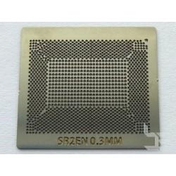Шаблон chip size SR2EN за ребол на Intel BGA чипове