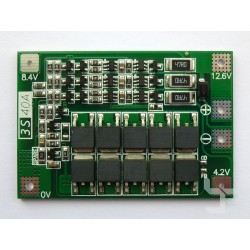 PCM модул 3S 40A 12.6V с балансер за Li-ion и LiPo акумулаторни батерии