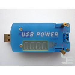 USB лабораторно захранване Wuzhi DP2F, DC 30V 2A 15W CC/CV, регулируемо, Fast Charge