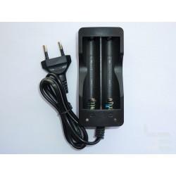 Зарядно устройство за 2бр. Li-ion акумулаторни батерии 18650