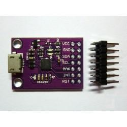 SMBus I2C комуникационен модул (тестер) CP2112 с USB управление