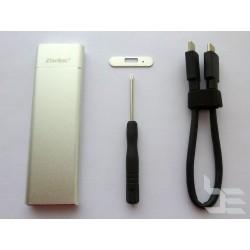 Адаптер M.2 SATA SSD към USB 3.0 с кутия, v2