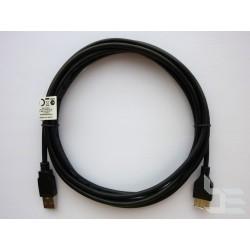 USB кабел удължител Type-A (М) към Type-A (Ж), USB 2.0, 3м