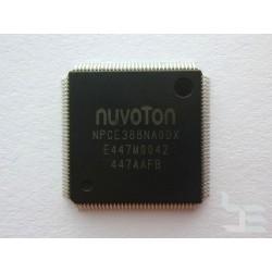 Чип Nuvoton NPCE388NA0DX (QFP-128), super I/O embedded controller, нов