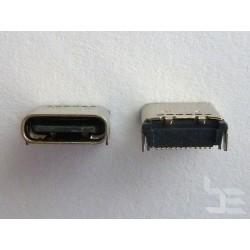 Type-C USB конектор TC-3, женски, 2x12 пина, за монтаж на платка
