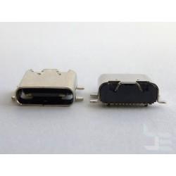 Type-C USB конектор TC-9, женски, 1x16 пина, за монтаж на платка