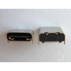 Type-C USB конектор TC-11, женски, 1x16 пина, за монтаж на платка