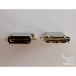 Type-C USB конектор TC-20, женски, 6+6+12 пина, за монтаж на платка