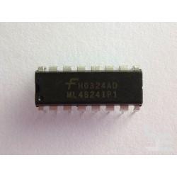 Чип Fairchild ML4824IP1 (DIP16), power factor correction and PWM controller, нов
