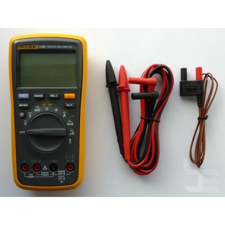 Цифров мултиметър Fluke 17B+ с LCD 4 цифри (4000)