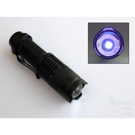 UV LED фенерче UV-365nm за втвърдяване на солдер маска