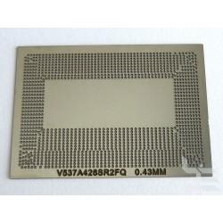 Шаблон chip size V537A426SR2FQ за ребол на Intel BGA чипове
