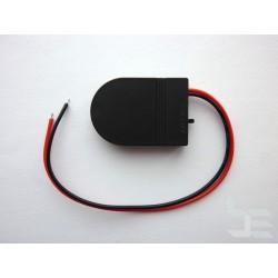 Кутия за CMOS (BIOS) батерия CR2032 с кабели и ON/OFF превключвател