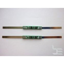 PCM модул KX-2834 2A 3.7V за Li-ion акумулаторна батерия 18650, 2 броя