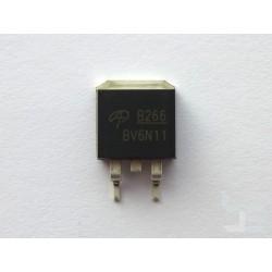 Чип AOS AOB266L (TO263), 60V N-channel MOSFET, нов