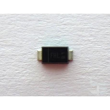Ценеров диод DFLZ5V6-7-F (PowerDI123), 5.6V 100mA 1W, SMD, SMT монтаж, нов