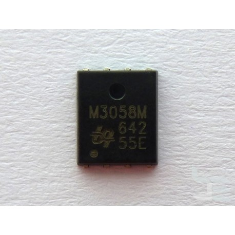 Чип UBIQ Semiconductor QM3058M (PRPAK5X6), 30V N-channel fast switching MOSFET, нов