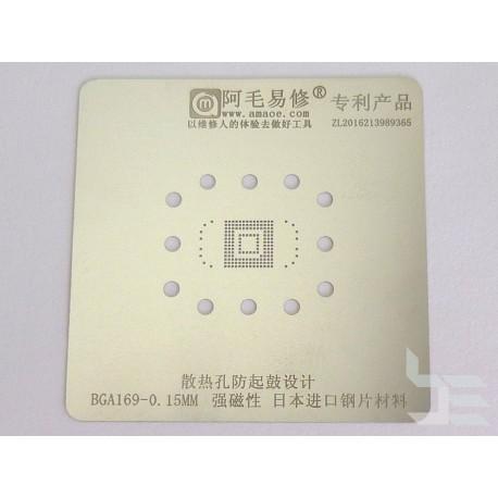 Шаблон AMAOE BGA153 / BGA169 за ребол на BGA чипове